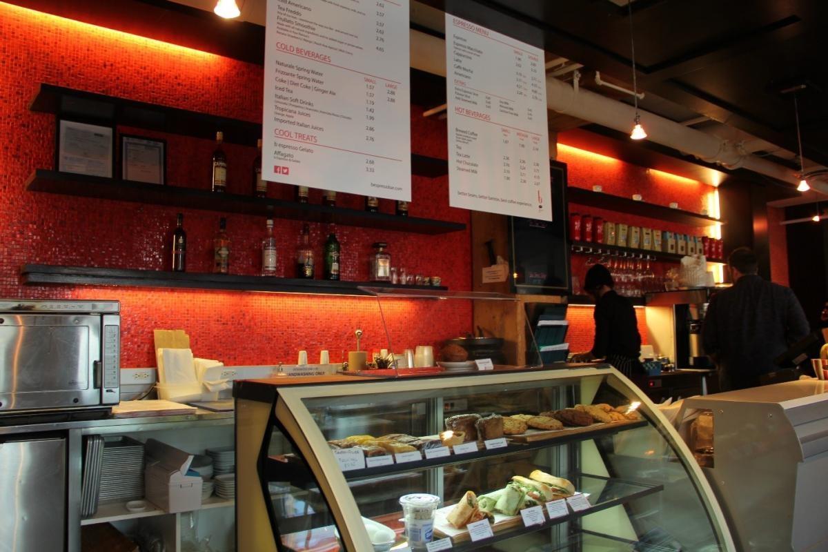 The B Espresso Bar Caffe Was Introduced In Early 2004 And Curly Operates Locations At Queen Richmond Centre Royal Conservatory Of Music